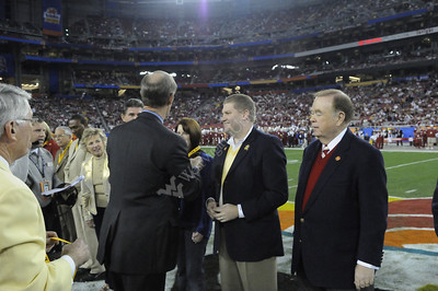 25114 2008 Fiesta Bowl and Mike Garrison