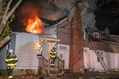 Colby Court Fire (New Haven, CT) 2/3/20