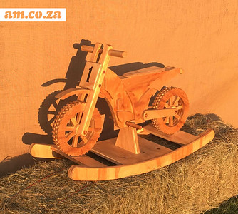 Wooden Bike Toy Made on CNC Router