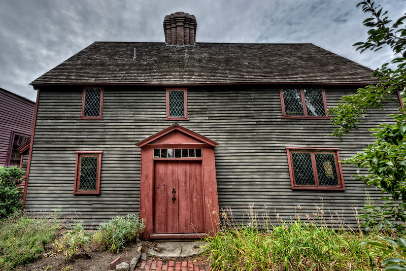"""The Pickman House, circa 1637"""