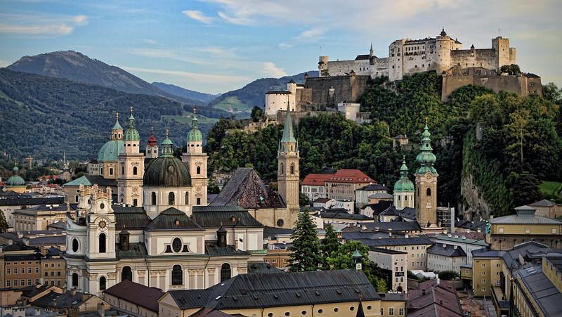 Salzburg, dusk