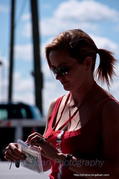 People at Indy MotoGP