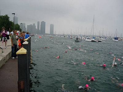 The Chicago Triathlon - 2006