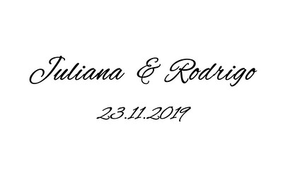Juliana & Rodrigo 23.11.2019