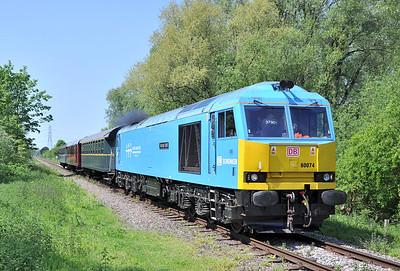 Nene Valley Railway Diesel Gala. 17/05/14.