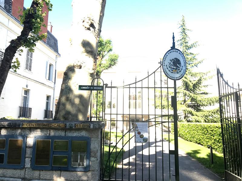 Consulado de México en Dijon, Francia
