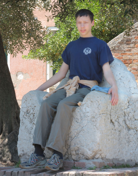 Steven on Torcello 2008