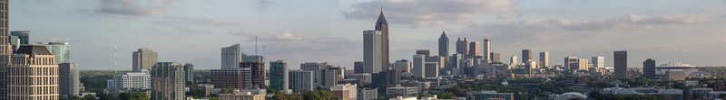 2013 Atlanta Skyline