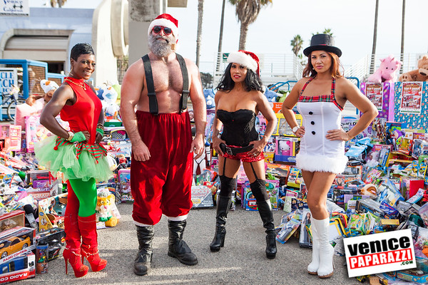 12.07.14 8th Annual Muscle Beach Toy Drive