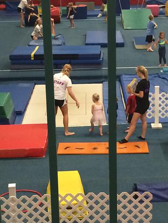 Kelsie - Gymnastics 2014