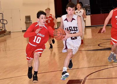 AMHS Boys JV Basketball vs TV photos by Gary Baker