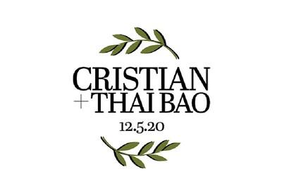 Cristian & Thai Bao 12/5/20
