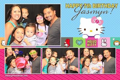 Happy 7th Birthday Jasmyn