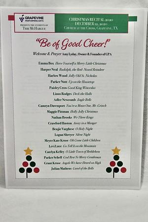12-12-2020 Teri McHargue Students @ GPA Recital