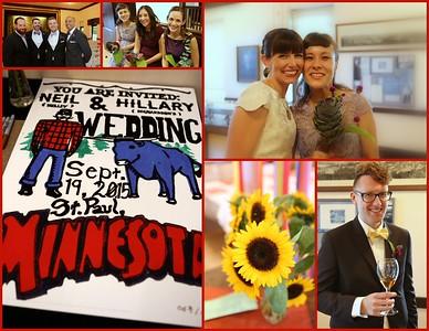 Scenes from Neil & Hillary's St. Paul Wedding Celebration