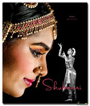 Shubaani's Pre-Arangetram Portraits 2021