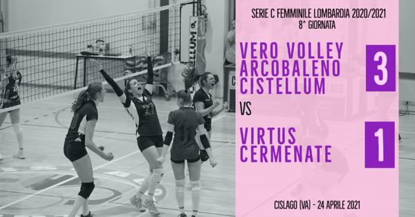 LOM-Cf: 8^ Arcobaleno Volley - Virtus Cermenate