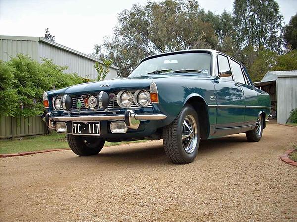 1969 Blue Rover 2000TC