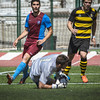 Jamie Robba in Action Glacis Utd secured three points against Lynx