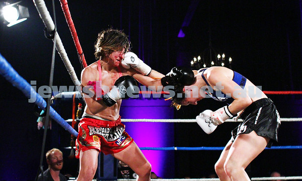Tali Silberman. Muay Thai Boxing