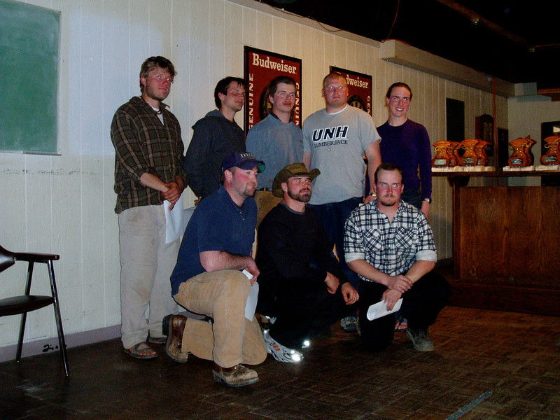 the STIHL Competitors from NSAC meet 2006