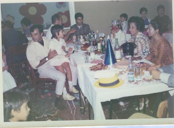Festa no Luxilo Jorge Costa, Arlete Marques