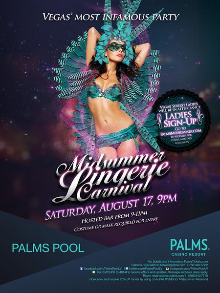 MidSummer Dream Lingerie @ Palms Pool 8.17.13