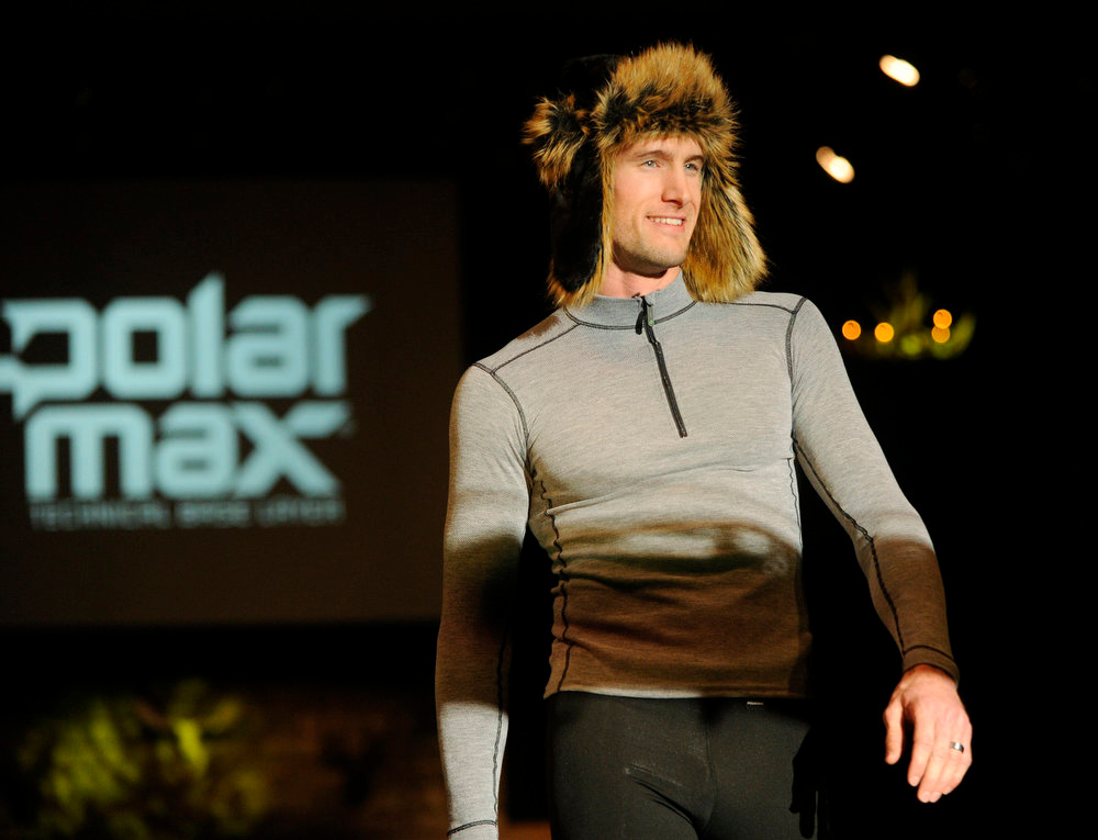 Description of . Polarmax snow gear, as the SIA Snow Show hosted its 2013 Snow Fashion & Trends Show at the Colorado Convention Center  in downtown Denver  on Wednesday, January 30, 2013.  (Photo By Cyrus McCrimmon / The Denver Post)