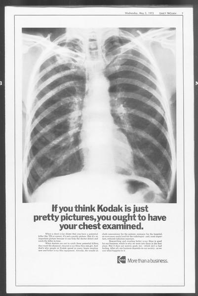 Daily Trojan, Vol. 64, No. 115, May 03, 1972