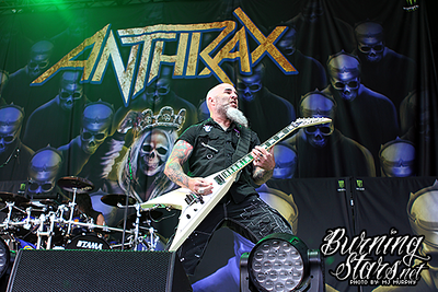 Anthrax @ Budwiser Stage (Toronto, ON); 05/29/18