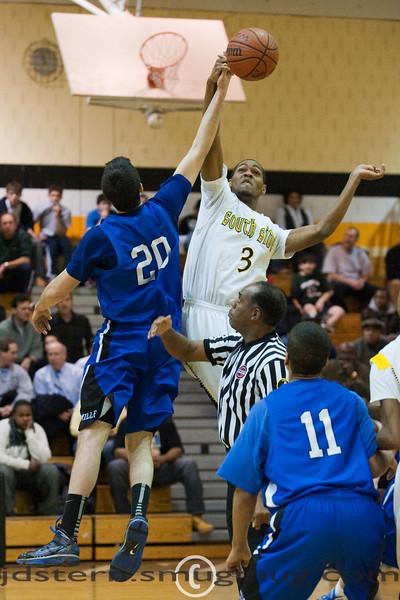 Millburn Varsity Boys vs Shabazz 02.13.2010