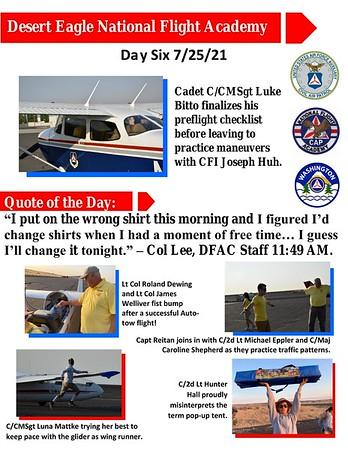 Desert Eagle Flight Academy Day 6
