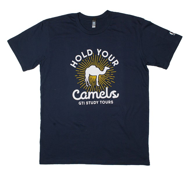 Hold your camels - Front