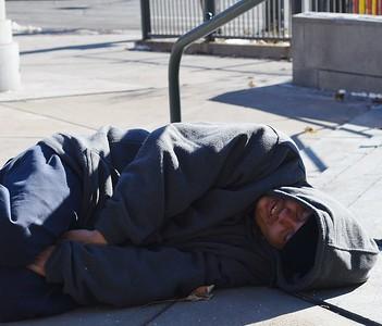 Homeless In Winter - Denver - Nov '14