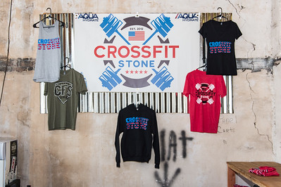 Mayor Sandy Stimpson's visit to Crossfit Stone