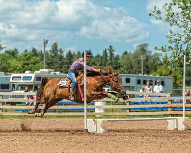 2015 Washington County Fair - Wednesday 4-H Jumping Figure Eight