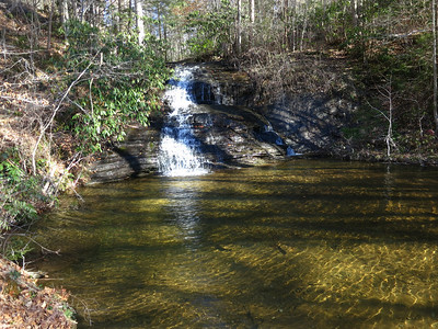 A Hike to Slickum Falls From US 276/Hwy 11