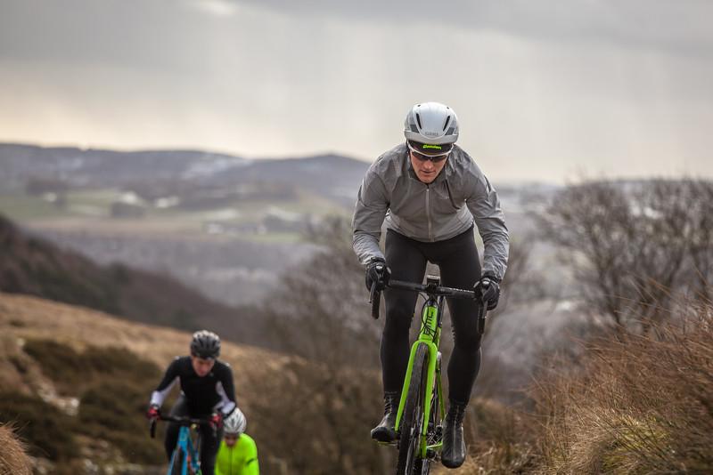 Gravel bike testing in the Peak District