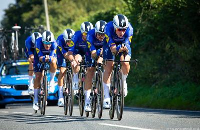 AJ Bell Tour Of Britain 2021 - Stage 3 TTT - Llandeilo,