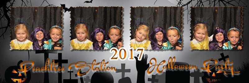 10.28.17 Peachtree Station HOA Halloween Party