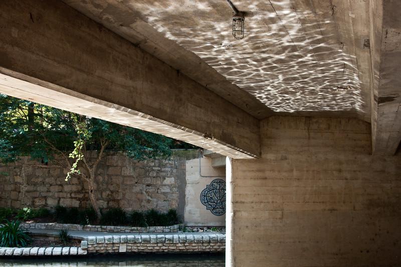Reflecting Under Bridge