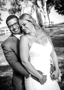 Caylee and James Frierson wedding B+W 6-15-2019