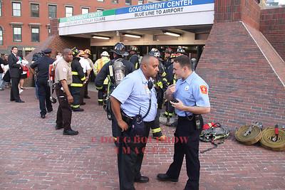Boston, MA - 3rd Alarm Train Derailment, Government Center, 5-8-09