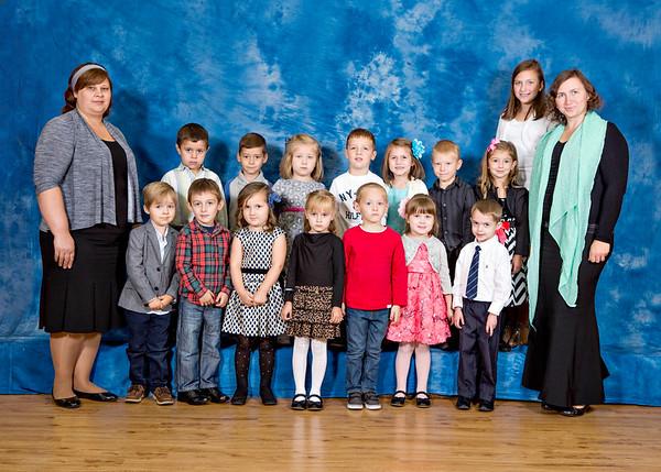 Sunday School Groups 2015-2016