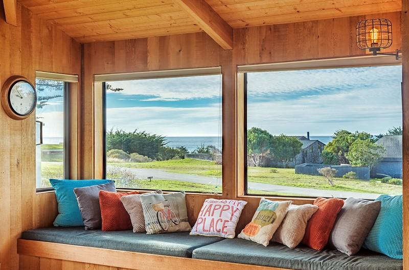 Window Seat in Living with Ocean Views