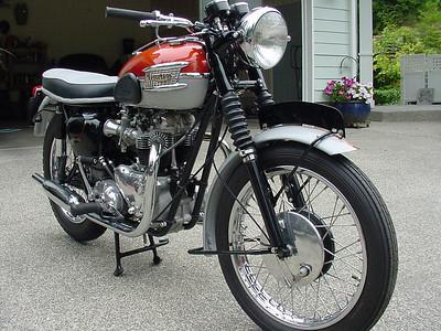 1962 Triumph T120 Bonneville - Gary