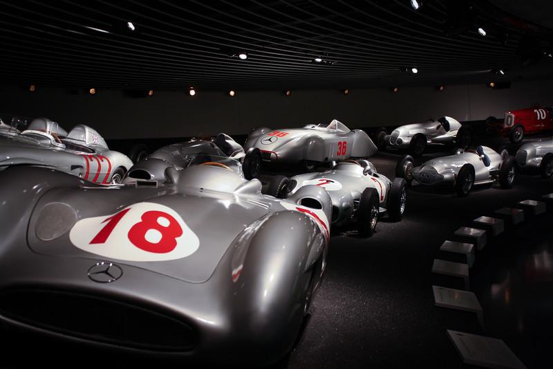 Mercedes Museum- Stuttgart, Germany