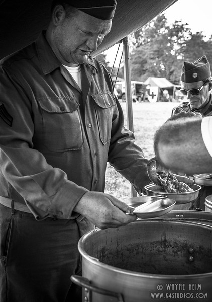 Getting Chow    Black and White Photography by Wayne Heim