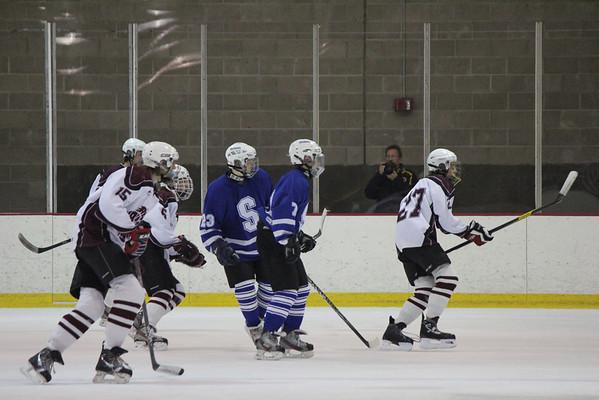 Wildcats Hockey vs. Amherst 12-26-12