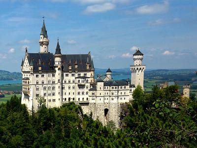 Europe, Fussen, Germany, July 27-28